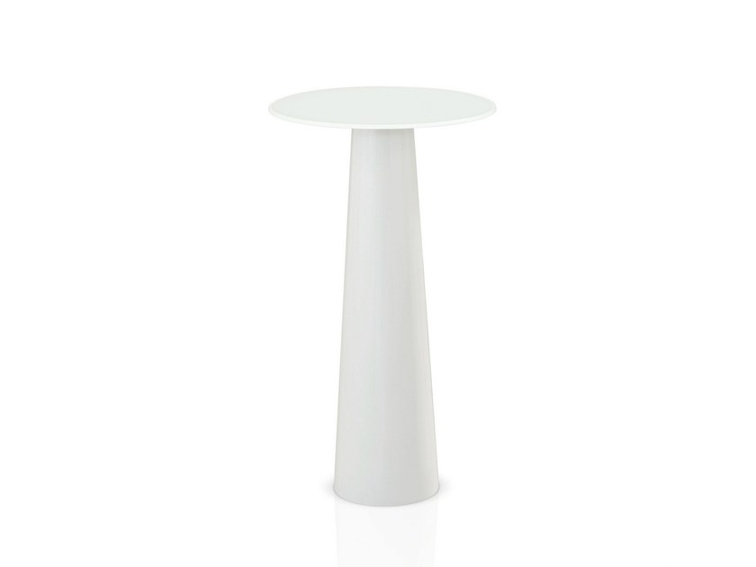 Glass high table TOTEM H. 110 - SOVET ITALIA