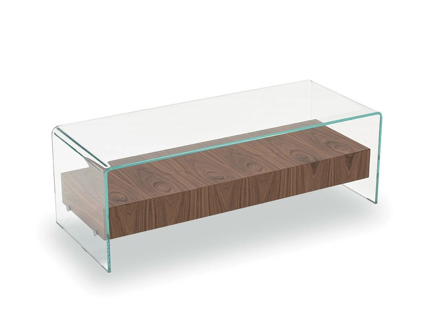 Coffee table BRIDGE WITH DRAWER by Sovet italia