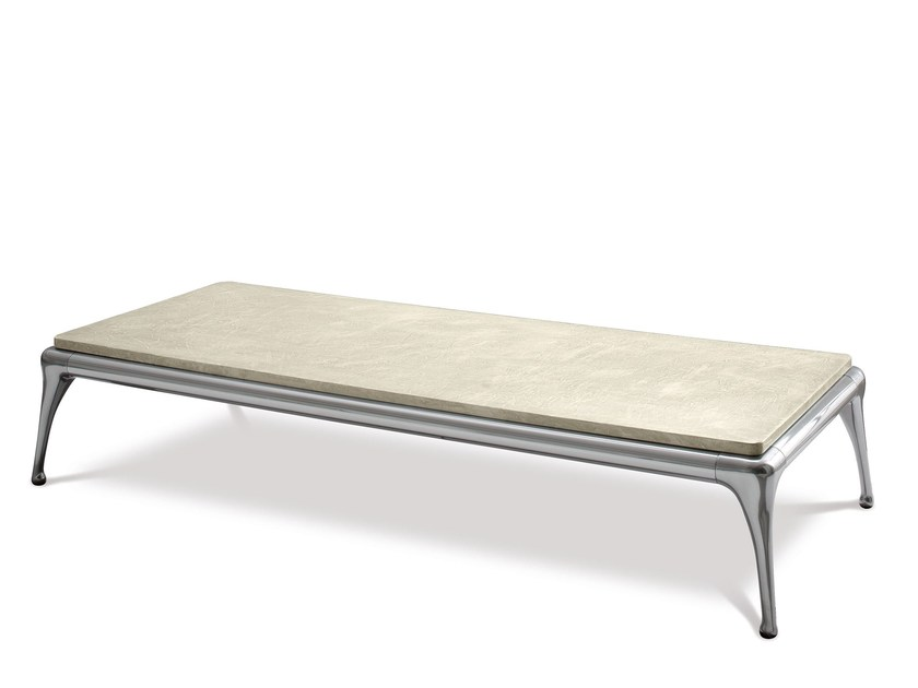 Aluminium coffee table for living room ISEO | Coffee table - Cantori