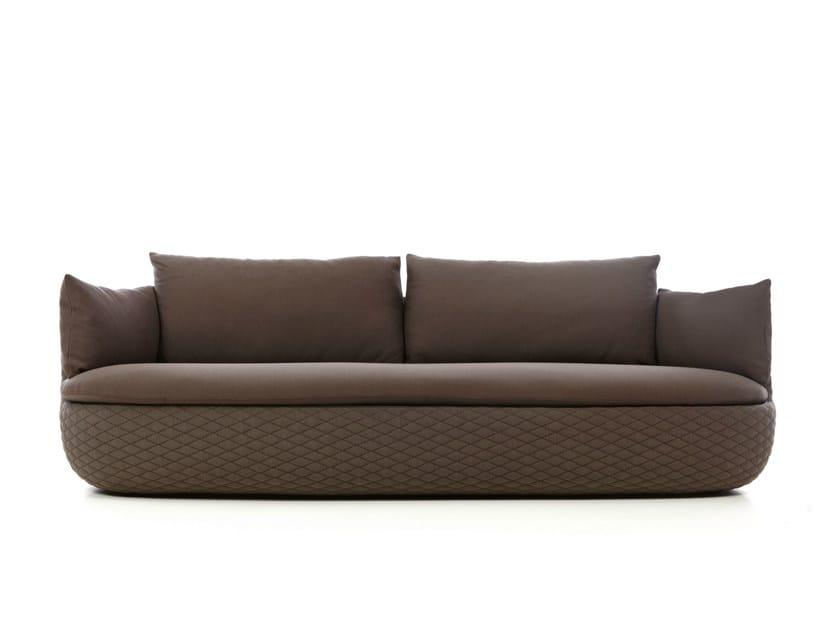 Dacron® sofa with removable cover BART SOFA - Moooi©