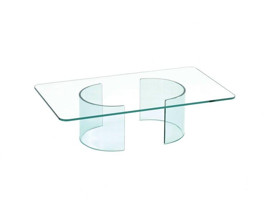 Low rectangular coffee table PARTY | Rectangular coffee table - SOVET ITALIA
