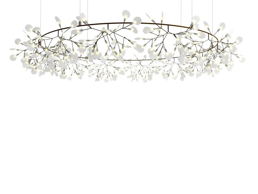 Metal pendant lamp HERACLEUM THE BIG O - Moooi©