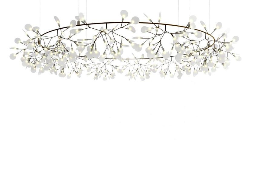 Metal pendant lamp HERACLEUM THE BIG O by moooi