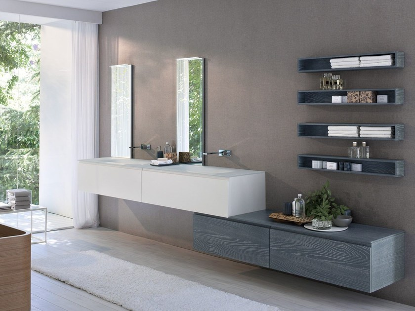 Bathroom furniture set COMP MSP09 by Idea
