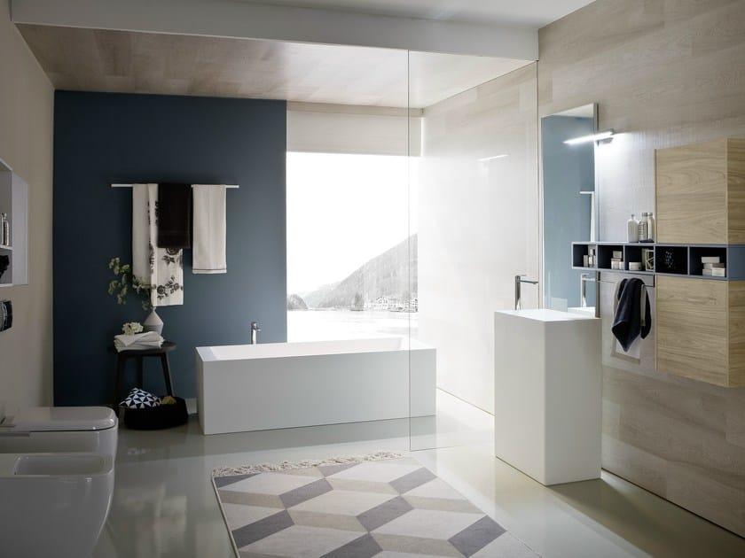 Bathroom furniture set COMP N04 | Bathroom furniture set - IdeaGroup