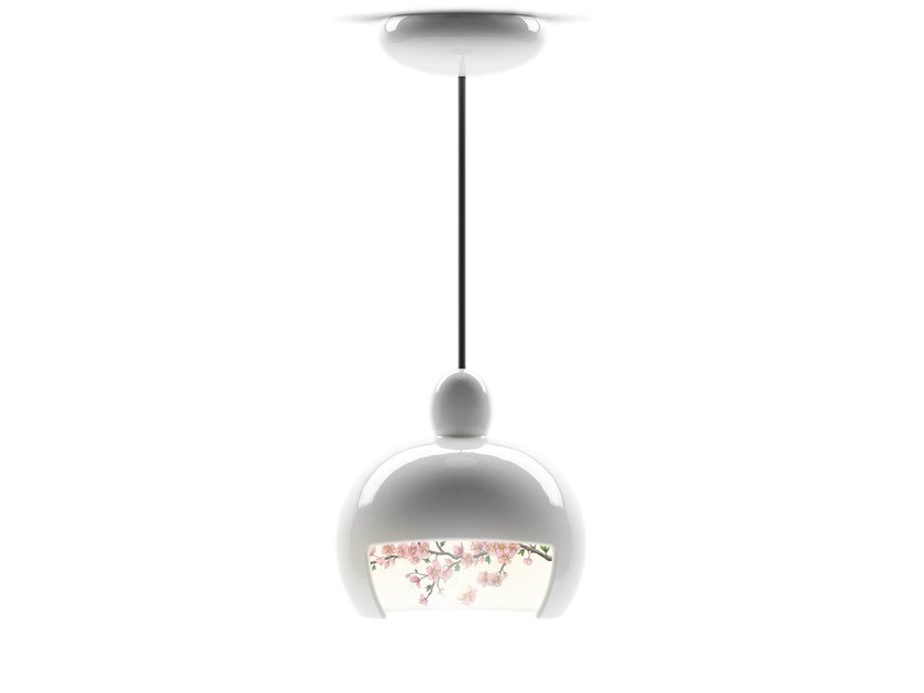 Ceramic pendant lamp JUUYO PEACH FLOWERS - Moooi©