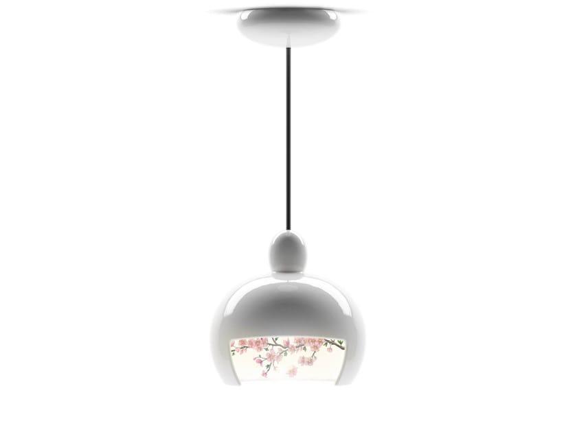 Ceramic pendant lamp JUUYO PEACH FLOWERS - Moooi©