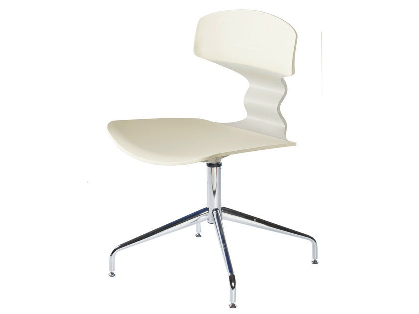 Waiting room chair with 4-Spoke base TOLO L - GABER