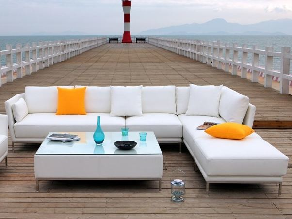 Sectional garden sofa SAO PAULO | Sectional sofa - Sérénité Luxury Monaco