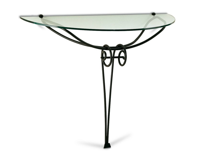 Iron console table JONICA by Cantori