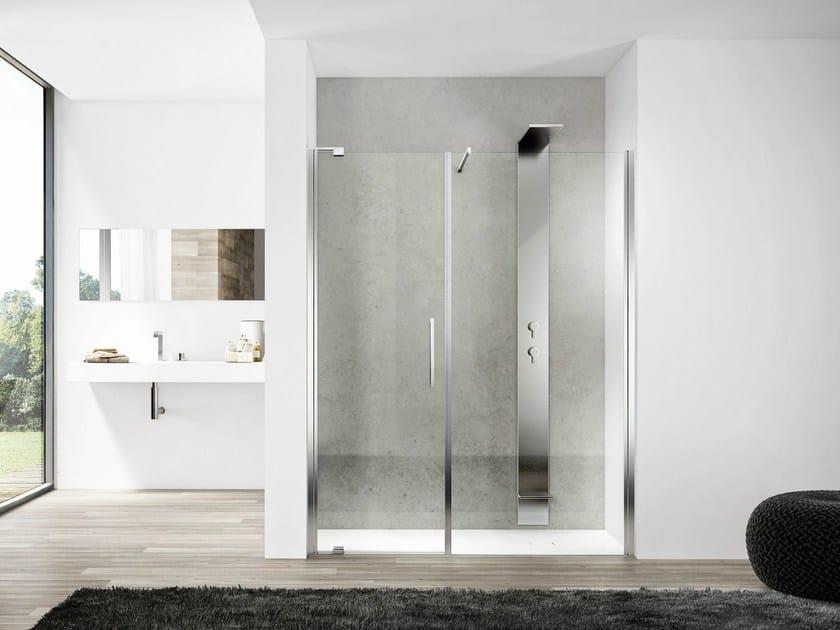 Niche glass shower cabin SLIM 01 - IdeaGroup