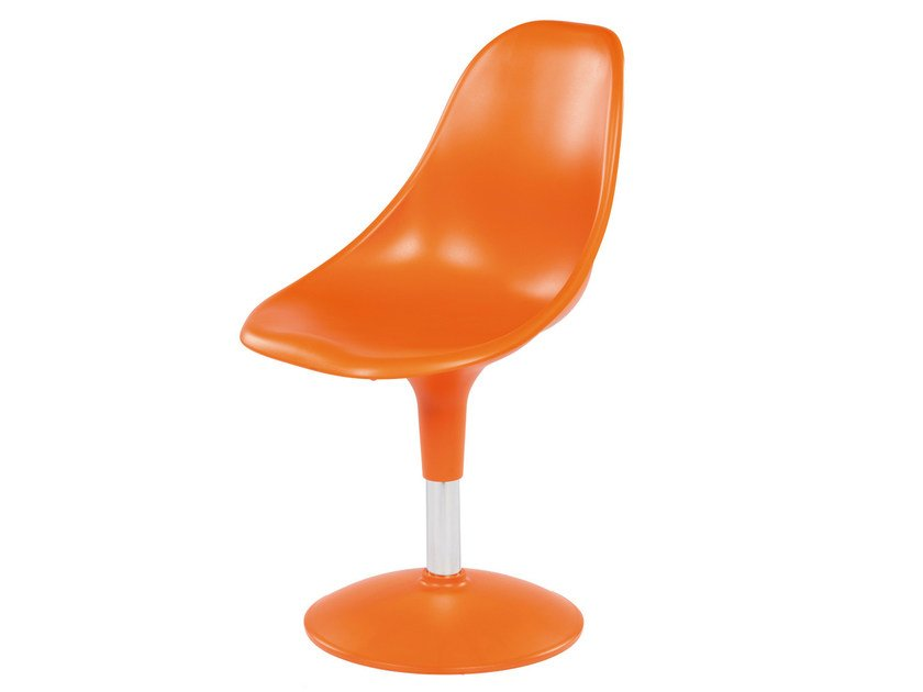 Swivel technopolymer chair HARMONY BTP - GABER