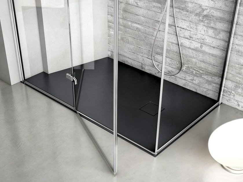 Rectangular Technogel® shower tray JOIN | Custom shower tray by Idea