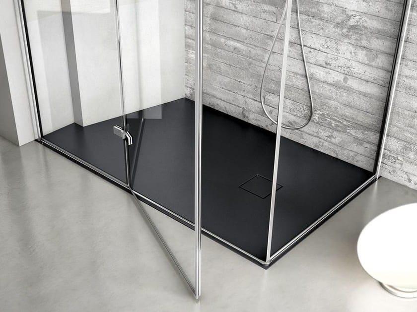 Rectangular Technogel® shower tray JOIN | Custom shower tray - IdeaGroup