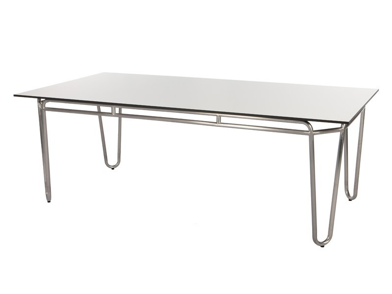 Rectangular HPL garden table PHOENIX | Rectangular table - Sérénité Luxury Monaco