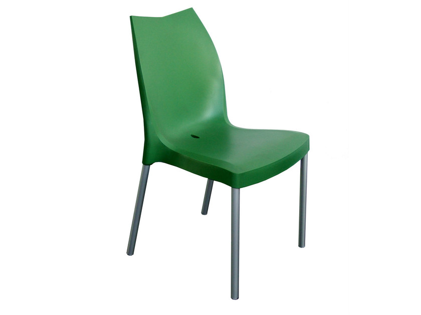 Stackable technopolymer chair TULIP - GABER