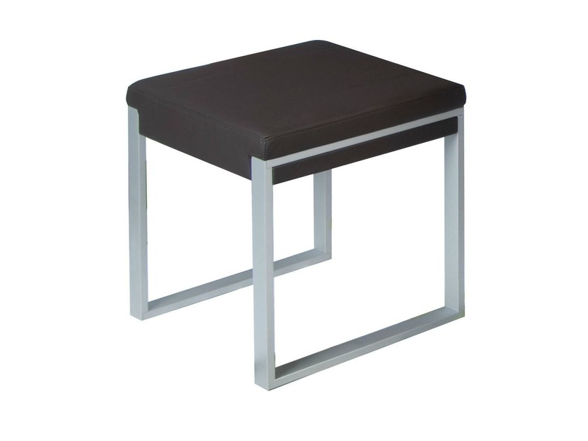 Low upholstered stool FUSION | Stool - Fusiontables Saluc