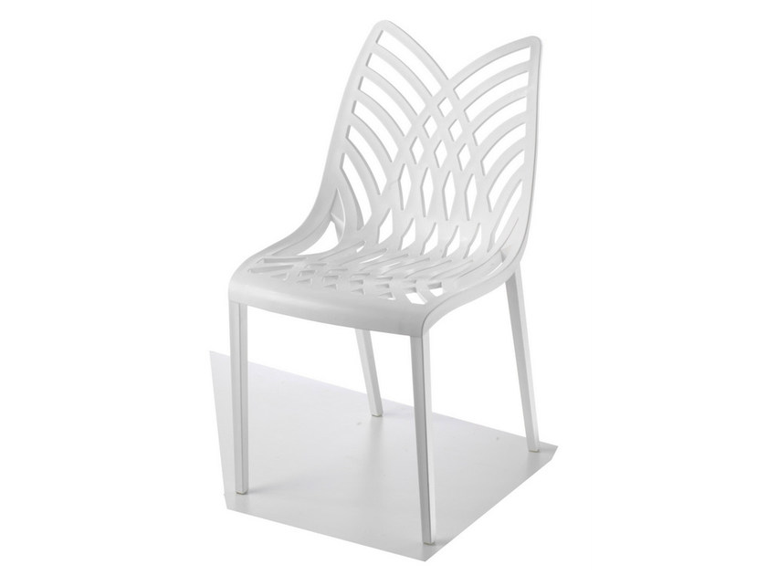 Stackable technopolymer chair OPERA - GABER