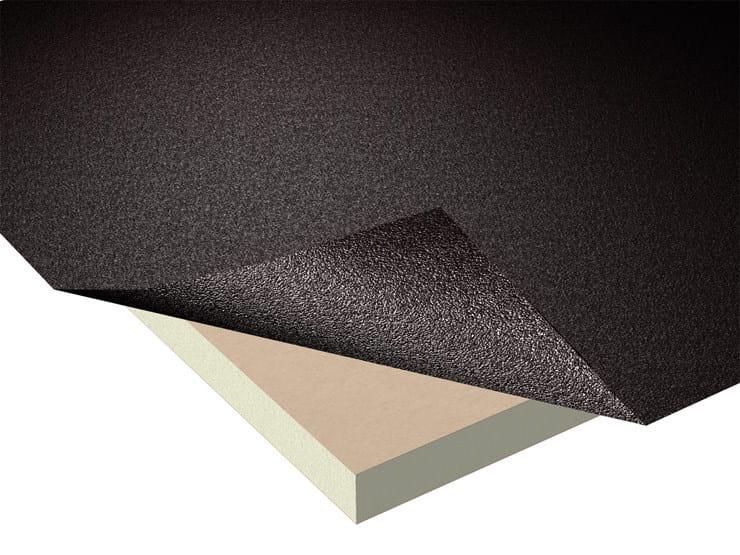 Dual waterproofing and thermal insulation system STIFERITE GT3 - GT4 – GT5 - STIFERITE