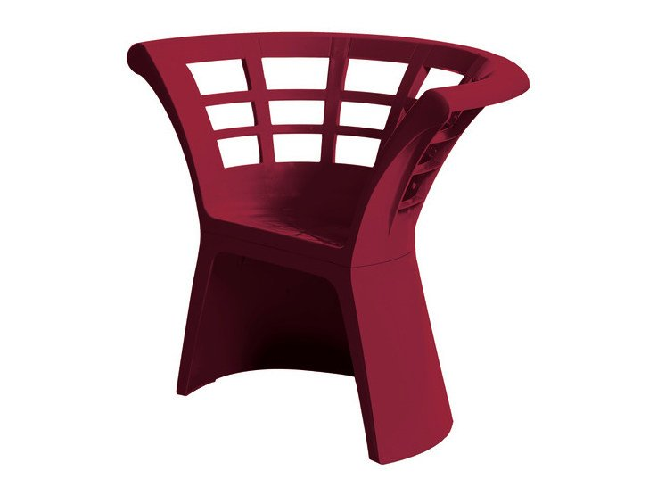 Technopolymer chair FLOWER | Technopolymer chair - GABER