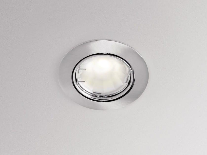 LED round aluminium spotlight ASTRID 75 by GEWISS