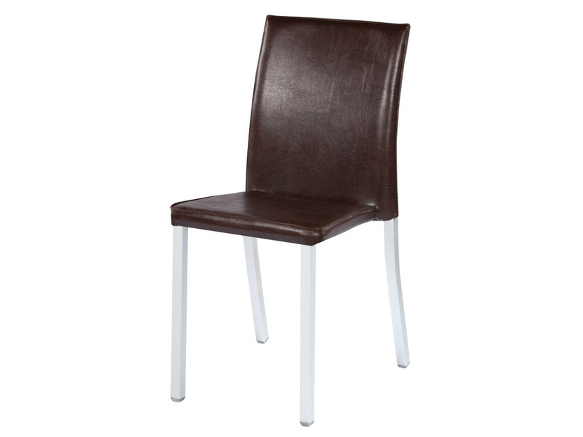 Upholstered imitation leather chair MODENA - GABER