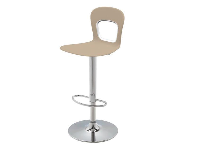 Swivel technopolymer counter stool BLOG 145A - GABER