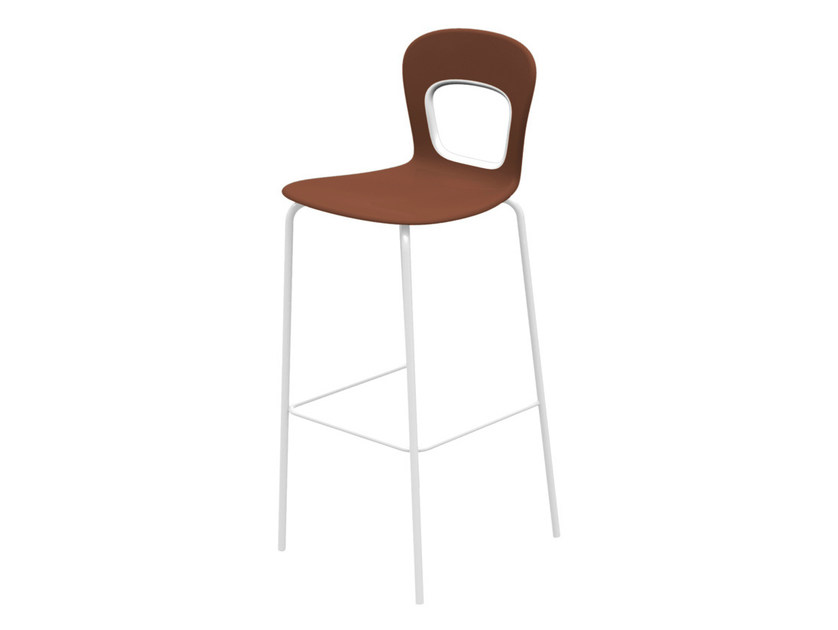 Stackable technopolymer counter stool BLOG | Counter stool - GABER