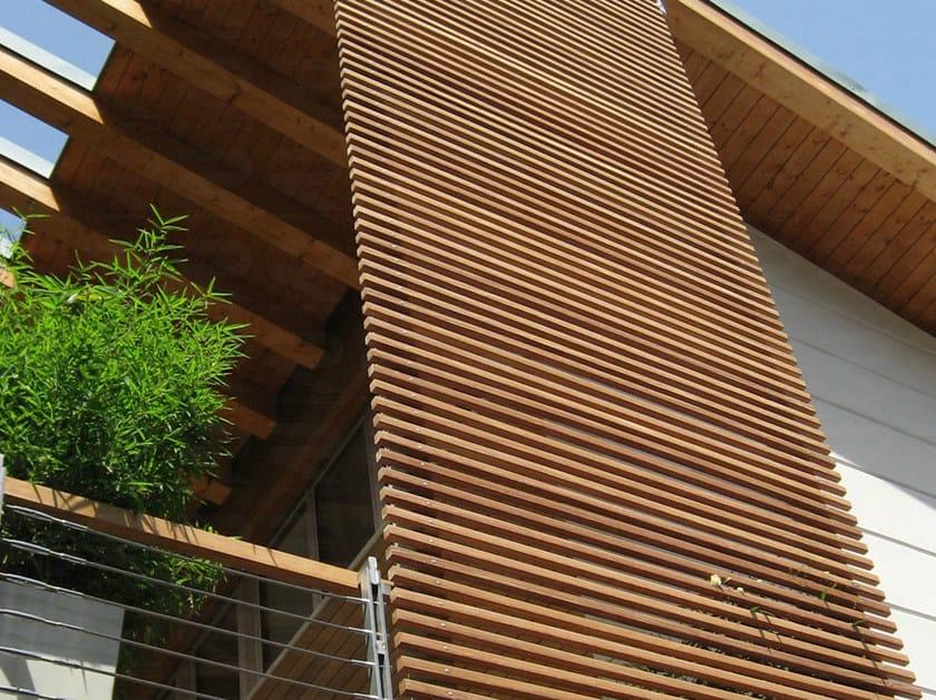 pannello in legno per facciate brise soleil ravaioli legnami. Black Bedroom Furniture Sets. Home Design Ideas