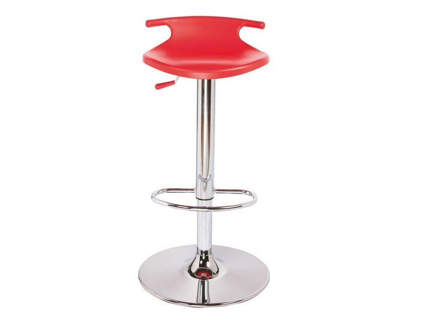 Height-adjustable technopolymer stool TOM AV by GABER