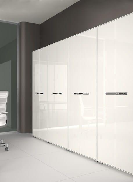 mobile ufficio modulare kbox | mobile ufficio in acciaio - tecnitalia - Mobile Ufficio Bianco