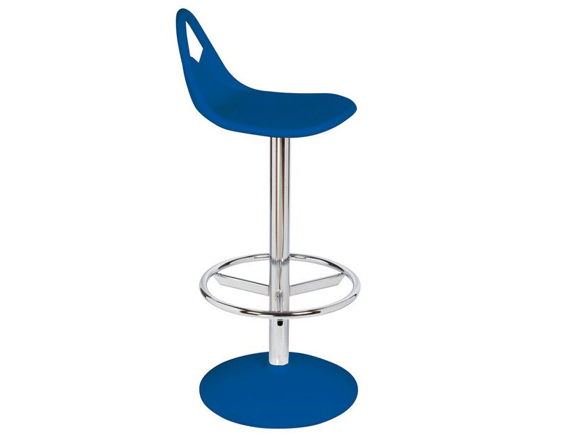 Swivel technopolymer barstool SNACK by GABER