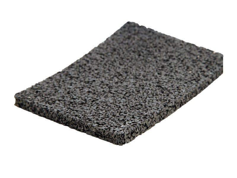Rubber sound insulation panel dBred W - EDILTECO