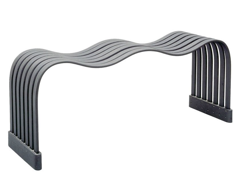 Steel Bench WAVE by Nola Industrier
