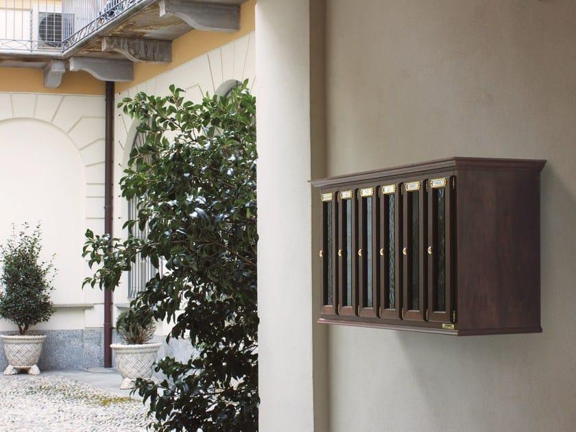 Wooden mailbox VERTICAL - RAVASI