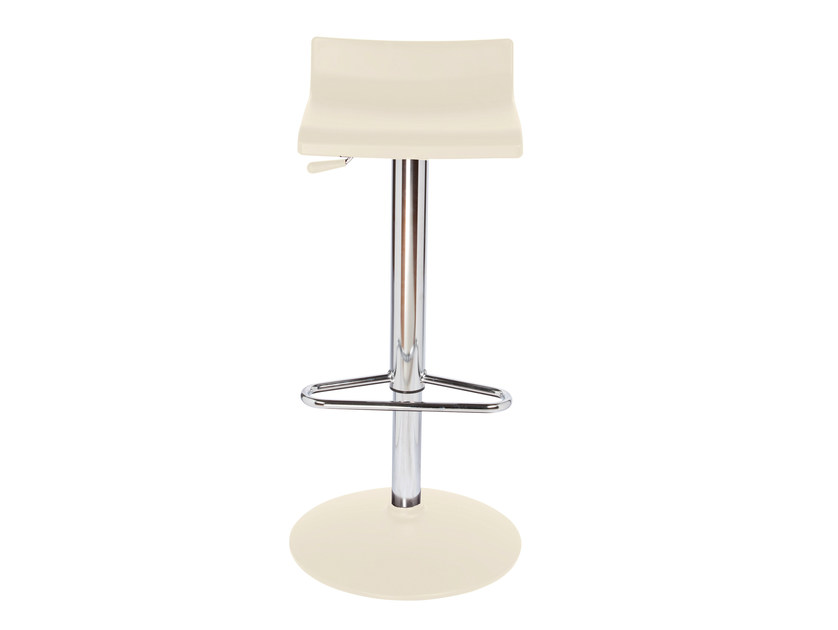 Height-adjustable high technopolymer stool OVER T - GABER