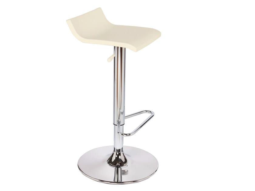 High swivel technopolymer stool OVER TV - GABER