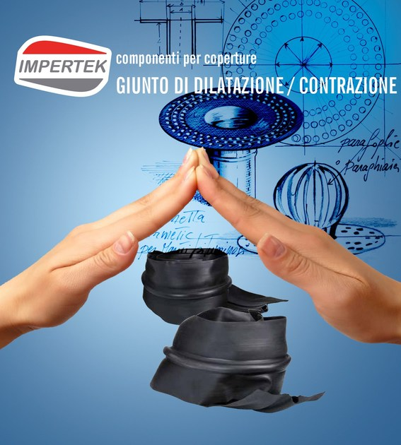 Accessory for roof Expansion and contraction joint - IMPERTEK