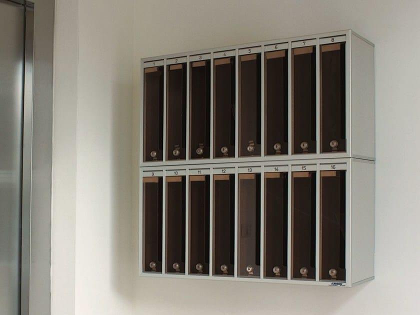Wall-mounted mailbox PV | Mailbox by RAVASI