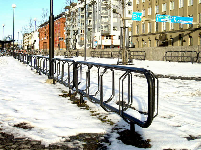 Steel Bicycle rack ÖREBRO by Nola Industrier