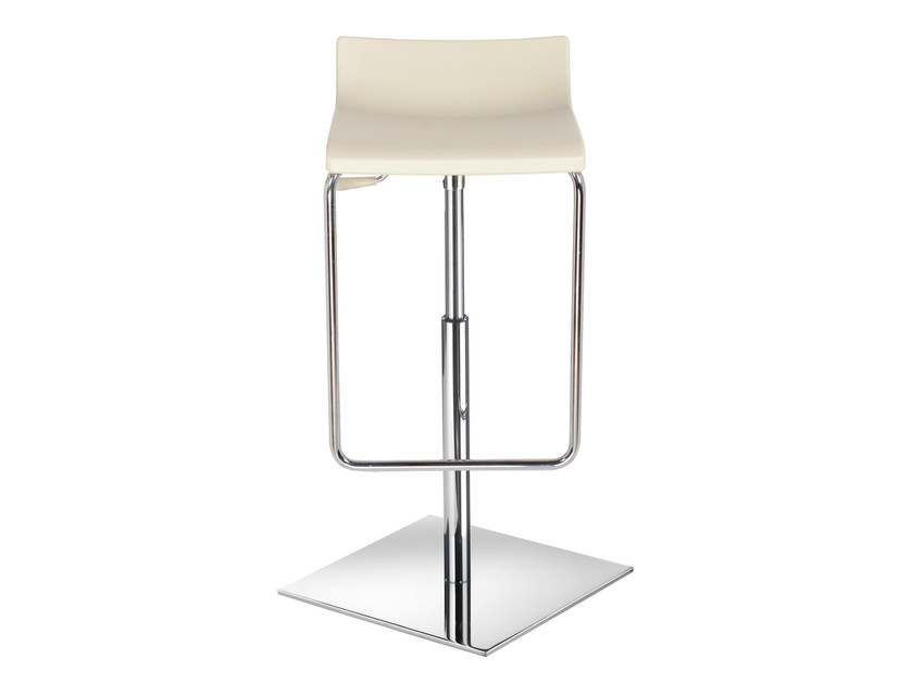 Height-adjustable swivel technopolymer stool MICRO X - GABER