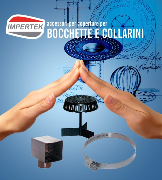 Accessory for roof Accessories for drain connectors - IMPERTEK