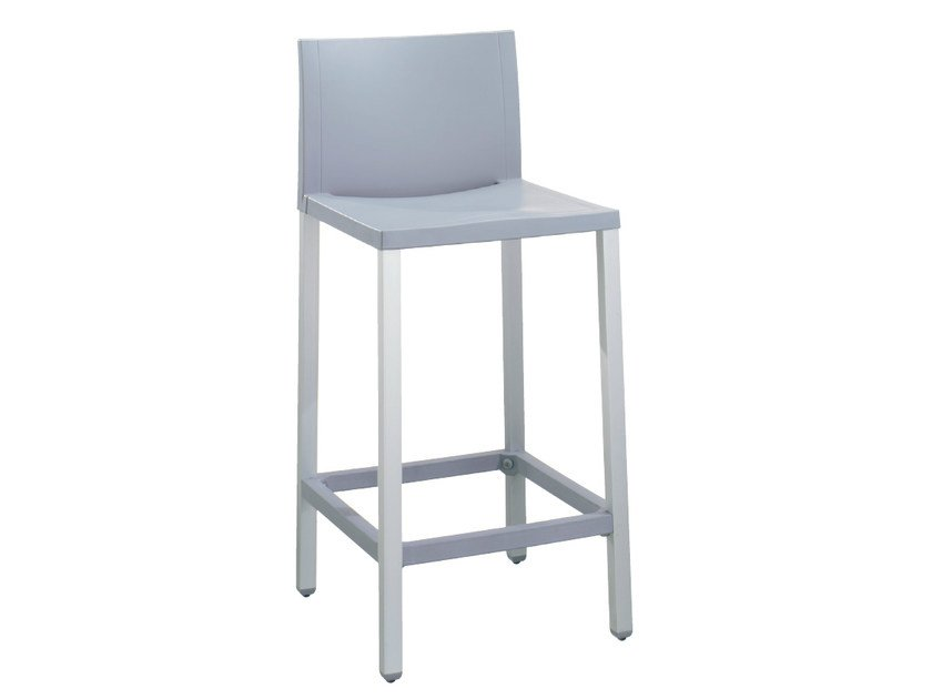 Technopolymer counter stool LIBERTY | Counter stool - GABER