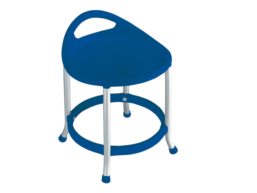 Low technopolymer stool MAX H42 by GABER
