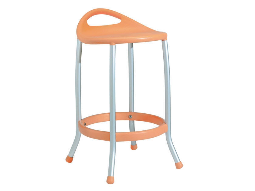 Technopolymer stool MAX H60 by GABER