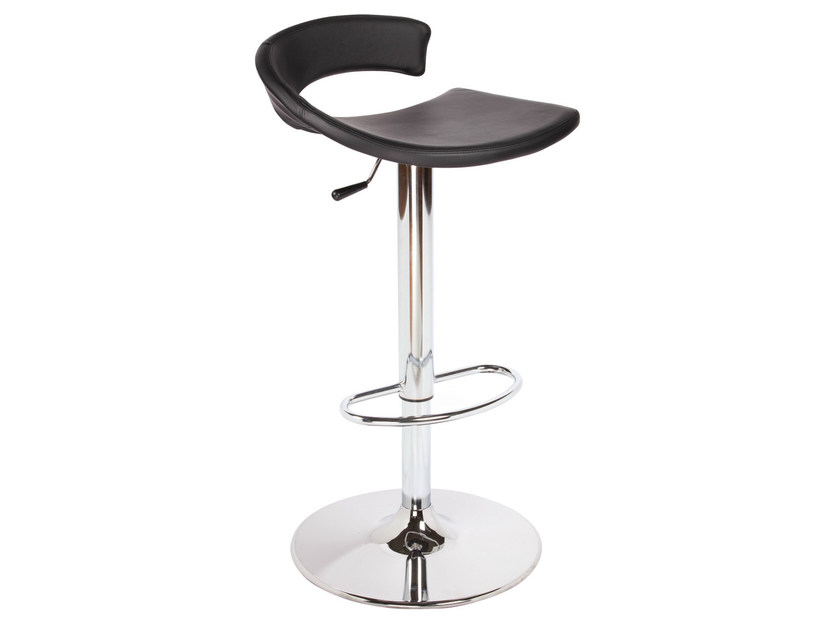 Height-adjustable high upholstered stool TORINO IV - GABER