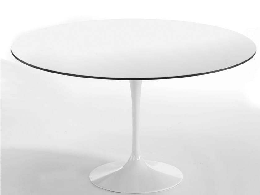 Round aluminium table SATURNO | Round table - GABER