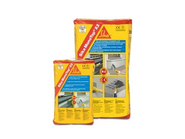 Mortar and grout for renovation SIKA MONOTOP® X2 - SIKA ITALIA