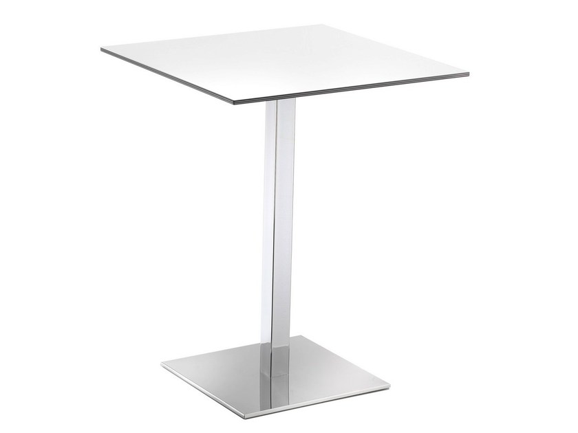 Square high table VENERE - GABER