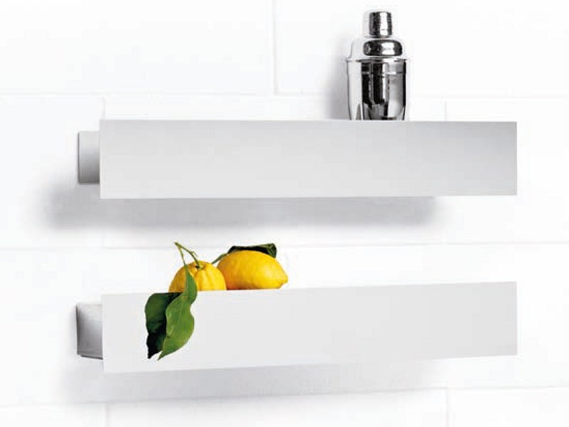 Mensola in metallo barattola by opinion ciatti design - Mensola porta piatti ...